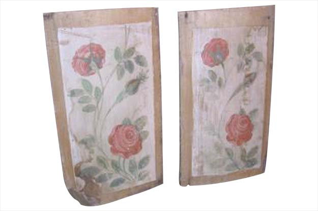 Pair of French Wooden Panels