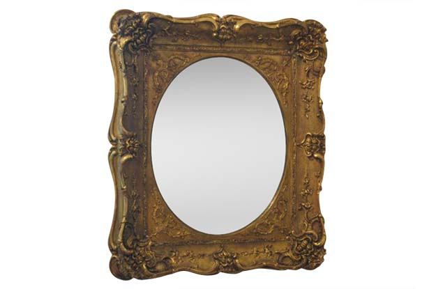 19th Century French Carved Gilded Mirror