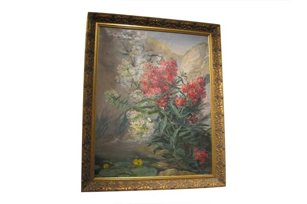French 19th Century Oil on Canvas. Signed: Paultuis