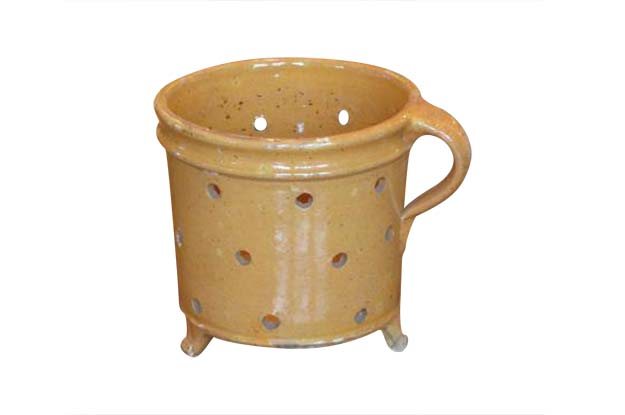 French Pottery Vegetable Steamer Circa 1850