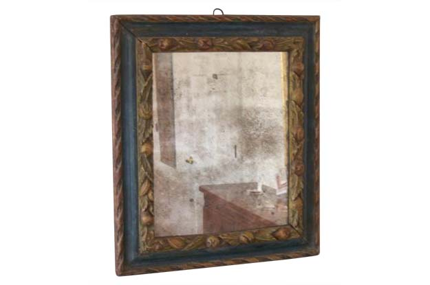 Early 19th Century Italian Painted Mirror Mizz