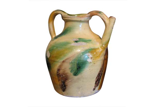 19th Century French Terracotta Water Jug  TOHH
