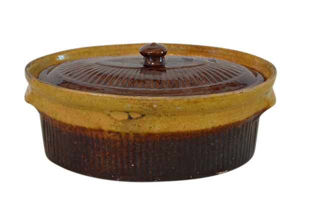 19th Century French Covered Pate